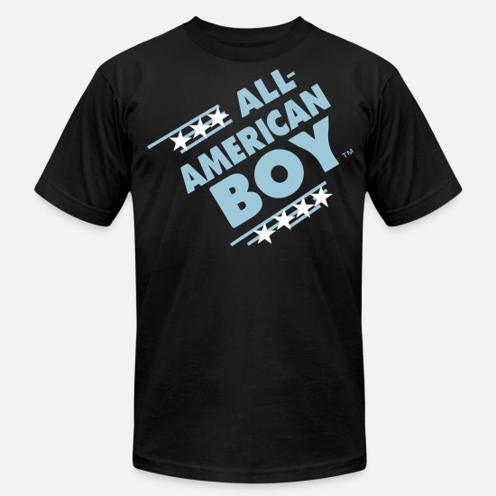 Bear T-Shirts - ALL AMERICAN BOY - Men's Jersey T-Shirt black