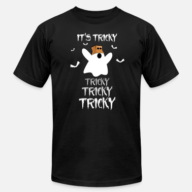 Tricky Symbols Halloween Ghost T-Shirt It's Tricky Tricky Tricky - Men's  Jersey T-Shirt