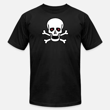 Crossbone Cute Skull Skull - Skull and crossbones - Men's  Jersey T-Shirt