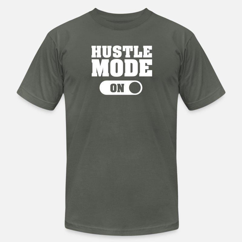 9245e2471f2a Hustle Mode (On) Men s Jersey T-Shirt