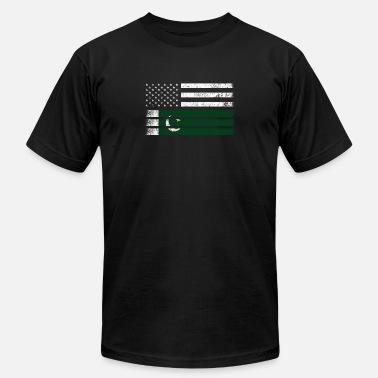 4ff2dc44e591f Pakistani Pakistani American Flag - USA Pakistan Shirt - Men  39 s Jersey T