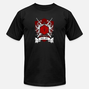 Dnd game addict - Unisex Jersey T-Shirt