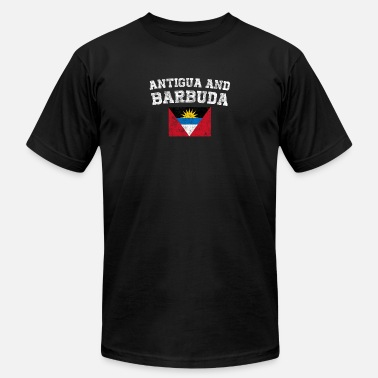 Antigua Antiguans, Barbudans Flag Shirt - Vintage Antigua - Unisex Jersey T-Shirt