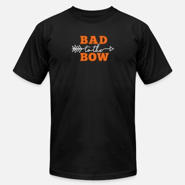 Katniss Bad to the Bow (Ladies) (Archery by BOWTIQUE) - Men's  Jersey T-Shirt