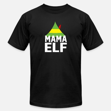 Mama Elf Mama Elf - Men's  Jersey T-Shirt