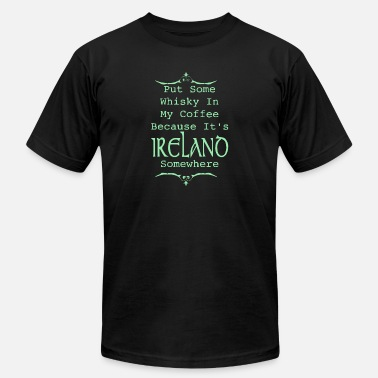 Irish Pubs Irish Whiskey - Men's  Jersey T-Shirt