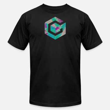 Gamecube Vaporwave Gamecube - Men's  Jersey T-Shirt