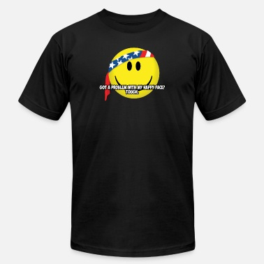 Happy Face USA - Unisex Jersey T-Shirt