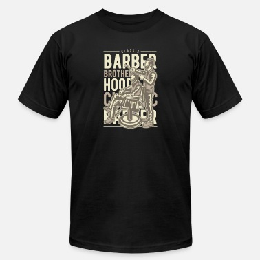 Barber Swag Barber Brotherhood - Men's  Jersey T-Shirt
