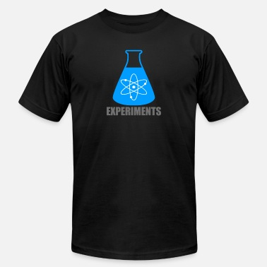 Experiment Chemistry Beaker Chemistry Experiments - Men's Jersey T-Shirt