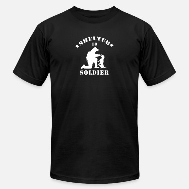Shelter Shelter to soldier - Unisex Jersey T-Shirt