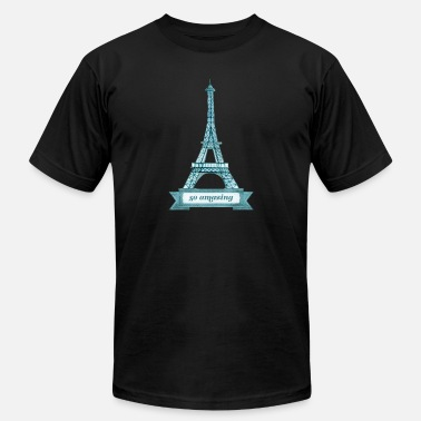 Eiffel Tower Eiffel Tower - Men's  Jersey T-Shirt