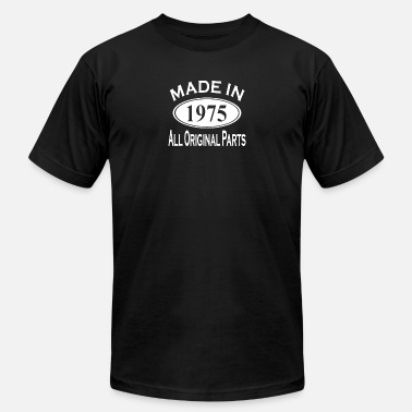 Mens 40th Birthday Made in 1975 Mens 40th Birthday - Men's Jersey T-Shirt