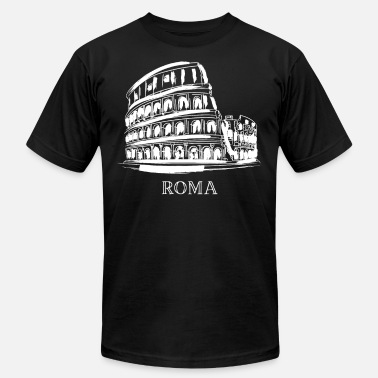 Colosseum Colosseo Amphitheatre Roma Rome Italy - Men's Jersey T-Shirt