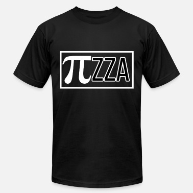 Pi Circle Circle number Pi zza - Men's  Jersey T-Shirt