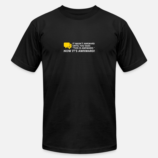 Embarrassing T-Shirts - Now It's Really Embarrassing - Men's Jersey T-Shirt black