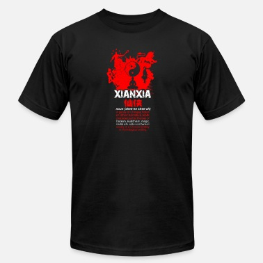 Xianxia Xianxia black - Men's  Jersey T-Shirt