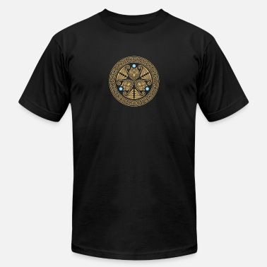 Celtic Owls Celtic 3 Owls - Men's  Jersey T-Shirt