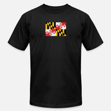 Flag Of Maryland Maryland Flag - Men's Jersey T-Shirt