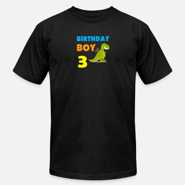 3 Year Old Birthday Gift Birthday boy 3 years old - Men's  Jersey T-Shirt