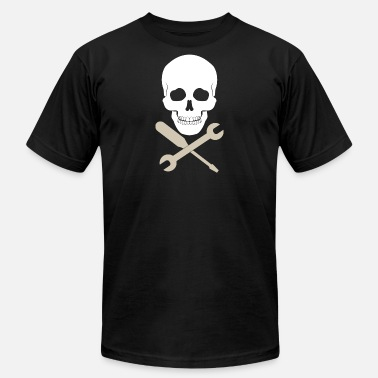 Skull Tools Skull Mechanic Tool - Men's Fine Jersey T-Shirt