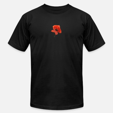 Poppy Flowers Poppy Flower - Men's Fine Jersey T-Shirt