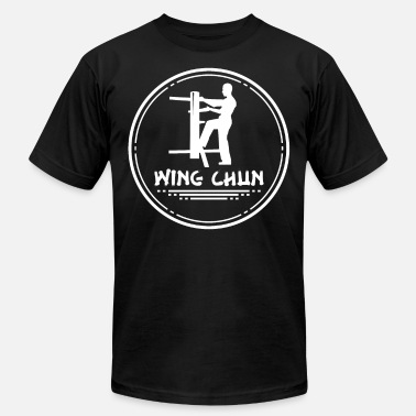 Wing Wing Chun Fighting MMA Sports Gift Training - Men's Jersey T-Shirt