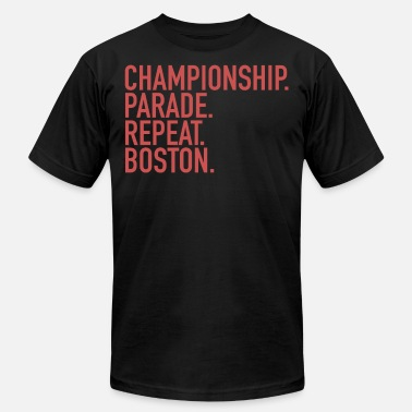 Baseball Championship. Parade. Repeat. Boston. Sports Clubs - Men's  Jersey T-Shirt