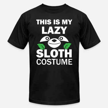 d455397b8 Funny Sloth Graphic Funny Sloth Halloween Costume graphic - Men's  Jersey T. Men's Jersey T-Shirt