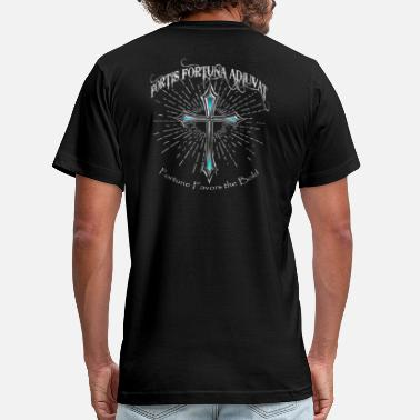 Fortuna Fortis Fortuna Adiuvat - Fortune Favors the Bold - Unisex Jersey T-Shirt