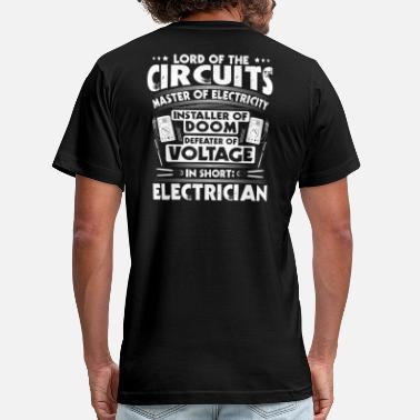 Sparky Electrician/Sparky/Electricity/Lord/Gift/Present - Men's Jersey T-Shirt