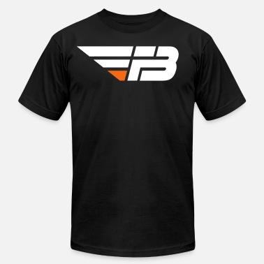 FBL White & Orange (nname - Unisex Jersey T-Shirt