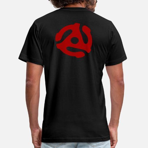 1f945e9e0a6 Retro T-Shirts - 45 RPM Adapter - Men s Jersey T-Shirt black. Do you want to  edit the design