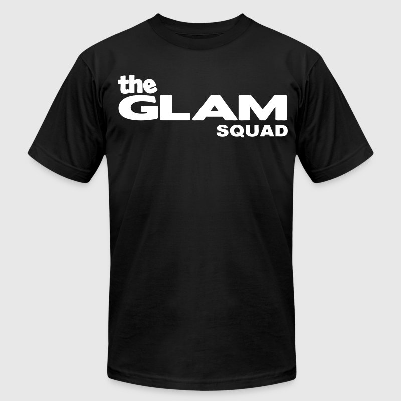 the GLAM SQUAD - Men's Fine Jersey T-Shirt