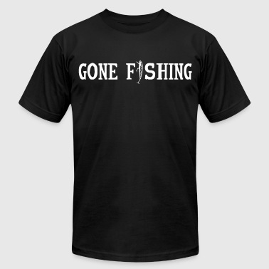 Gone Fishing - Men's Fine Jersey T-Shirt