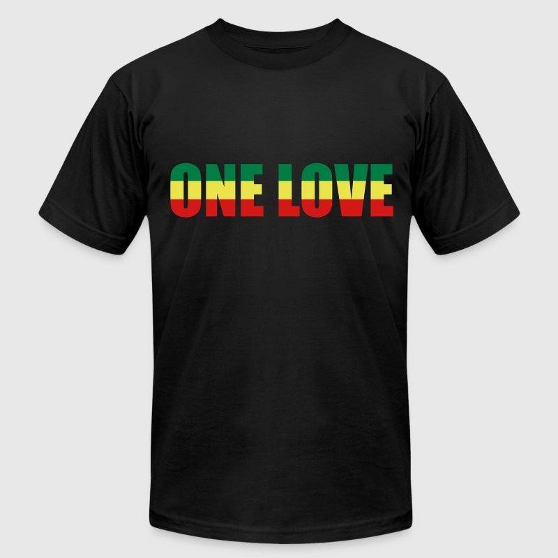 One love - Men's Fine Jersey T-Shirt