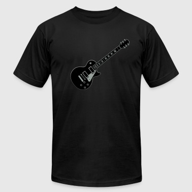 Guitar Les Paul - Men's Fine Jersey T-Shirt