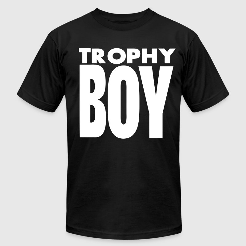 TROPHY BOY - Men's Fine Jersey T-Shirt