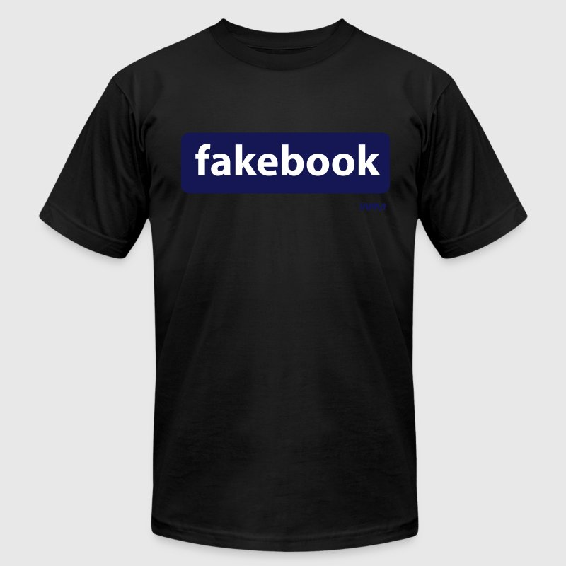 fakebook by wam - Men's Fine Jersey T-Shirt