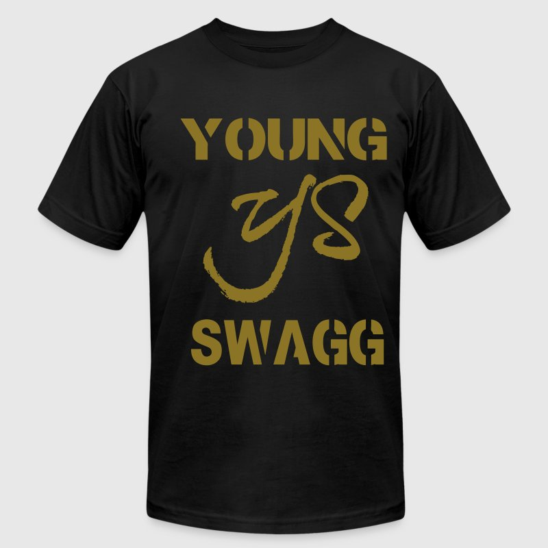 YOUNG SWAGG - Men's Fine Jersey T-Shirt