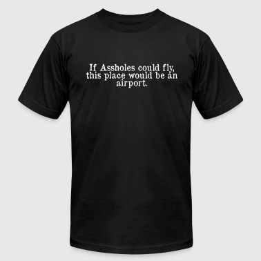Airport - Men's Fine Jersey T-Shirt