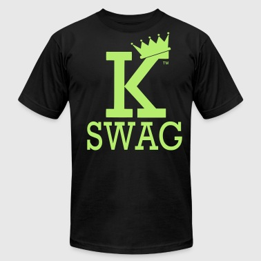 KING OF SWAG - Men's Fine Jersey T-Shirt