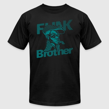 THE ORIGINAL FUNK BROTHER  - Men's Fine Jersey T-Shirt