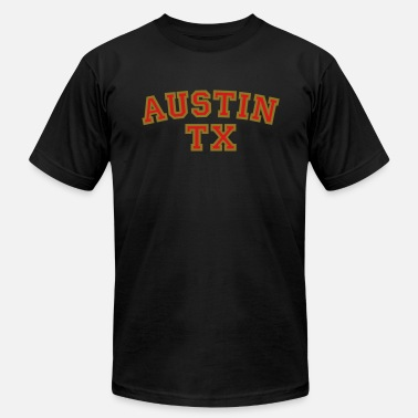 Austin Tx Austin TX College Rounded - Men's  Jersey T-Shirt