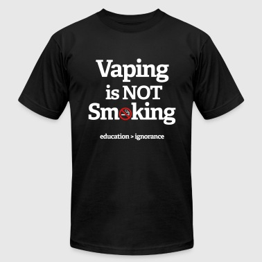 Vaping Is Not Smoking - Men's Fine Jersey T-Shirt