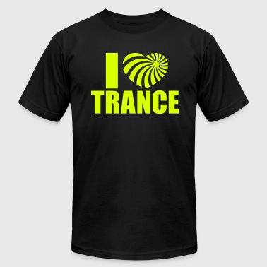 I Love Trance - Men's Fine Jersey T-Shirt
