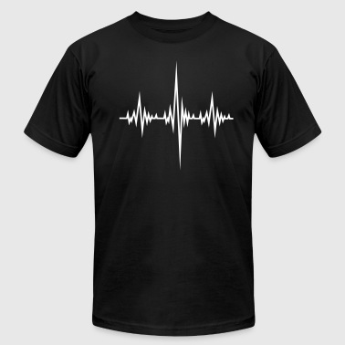 Frequency Beat - Men's Fine Jersey T-Shirt