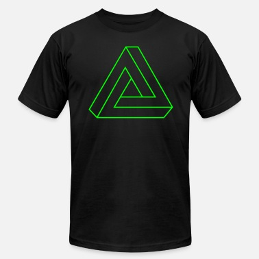 Tribar Impossible Triangle - Men's  Jersey T-Shirt