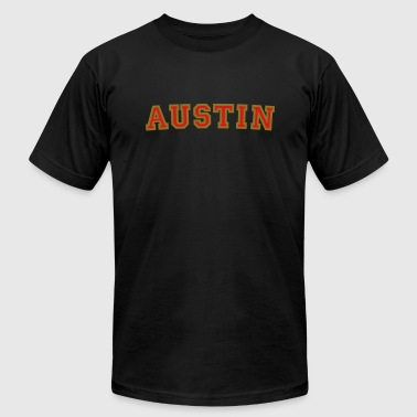 Austin College Style Rounded - Men's Fine Jersey T-Shirt