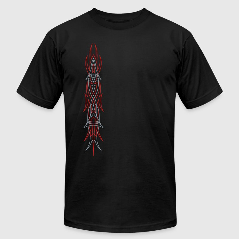 pinstriping 2 color - Men's Fine Jersey T-Shirt